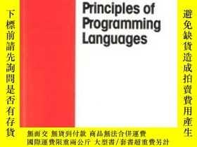 二手書博民逛書店Principles罕見Of Programming LanguagesY255562 R. D. Tenne