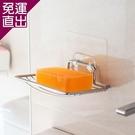 旺寶 BS-620肥皂架 MIT台製無痕貼 SGS強力耐重 重複黏貼 廚房 菜瓜布架 浴廁 瀝水架 置【免運直出】