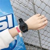 手錶女ins風簡約學生運動獨角獸方形電子錶 青山市集