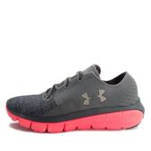 Under Armour UA W Speedform Fortis 2 TXTR [1284486-040] 女 慢跑鞋 灰 粉紅