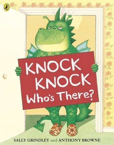 【麥克書店】KNOCK KNOCK WHO'S THERE? /英文繪本