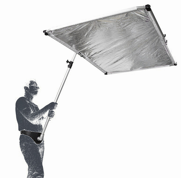 呈現攝影-Phottix Full-Frame 快速折疊柔光板 1x1.5m 白色/銀色/透光白 棚燈人像 外拍 離機閃