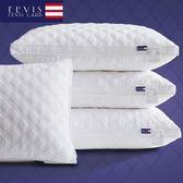 防抗菌 五星級酒店枕頭枕芯全棉羽絲絨護頸成人單人頸椎一對拍2 萬聖節禮物