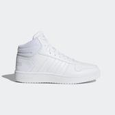 Adidas NEO Hoops 2.0 Mid [B42099] 女鞋 運動 休閒 籃球 中筒 基本 穿搭 愛迪達 白