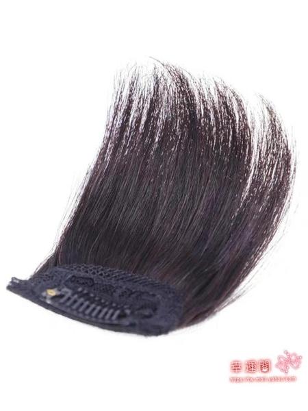 假髮片 墊髮根對裝真髮隱形無痕蓬鬆器迷你一片式墊髮片頭頂補髮女 4色