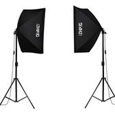 攝影棚150瓦攝影燈套裝LED柔光燈箱攝影棚淘寶產品拍攝道具照相補光燈箱 JD  聖誕節