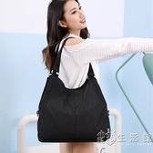 包包女輕便新款帆布包挎包女休閒女包尼龍布包百搭時尚單肩軟大包 小時光生活館