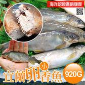【屏聚美食】宜蘭帶卵小香魚1盒(11-17尾裝/920g/盒)_第2件以上每件↘498元