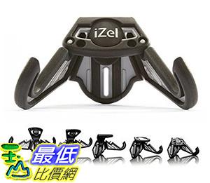 [106美國直購] Movaic 手機立架- 黑灰iZel Versatile Universal Portable Multi-Angle Foldable Smartphone Stand, Grey