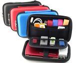 第2代加大型EVA防震行動電源包2.5吋行動硬碟包遊戲機包3C收納包