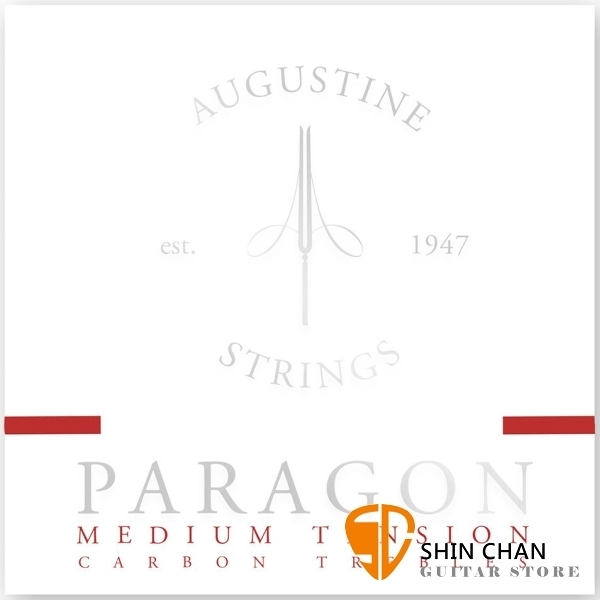 AUGUSTINE Paragon Red 中張力古典吉他弦 紅線包裝 Classic Medium Tension