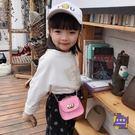 側背包 潮牌女童包包2019新款時尚寶寶斜背包洋氣兒童時裝包鍊條側背包 6色