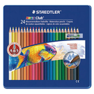 [奇奇文具] 【施德樓 STAEDTLER 色鉛筆】MS14410M24 水性色鉛筆 24色