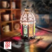 創意床頭燈台燈臥室調光復古裝飾溫馨結婚生日禮品鹽燈歐式摩洛哥【中秋節促銷】