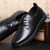 皮鞋 休閑 英倫 商務平底防水工作懶人鞋