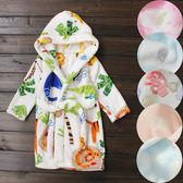 超柔軟水法藍絨睡袍 (兒童) 浴袍 外套   橘魔法Baby magic 現貨 童裝 大小童 男女童