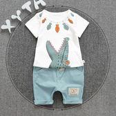 男童夏裝套裝兒童裝衣服短袖運動兩件套 東京衣櫃