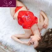 【降價兩天】情趣肚兜式睡衣女士性感成人套內衣吊帶古典古裝古代宮廷火辣騷短