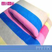 【貝淇小舖】  保暖商品~100%珍珠絨刷毛搖粒雙人床包3件組