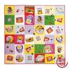 【日本製】【ECOUTE!】便當巾 餐巾布 拼貼格子圖案 SD-3735 - ecoute!