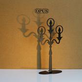 OPUS 歐式鐵藝飾品架/金屬首飾座/收納(希望之光_黑)