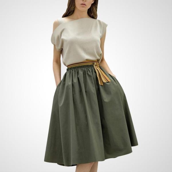 洋裝 一字領上衣裙子漏肩套裝氣質淑女小香風兩件套 十一週年降價