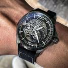 elegantsis 愛樂時 ROCMP憲兵 限量機械腕錶-黑(ELJX65AS-MP-8G02LC)