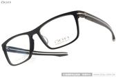 OGA 光學眼鏡 OGA2968S NM020 (黑) 簡約沉穩紳士方框款 # 金橘眼鏡