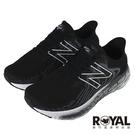 New balance Fresh Foam 黑色 4E楦 網布 運動慢跑鞋 男款NO.B1847【新竹皇家 M1080B11】