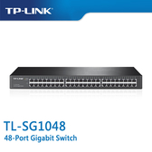 【免運費】TP-LINK  TL-SG1048  48-Port Gigabit  商用 非管理型 交換器