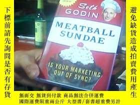 二手書博民逛書店Meatball罕見Sundae: Is Your Market