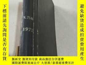 二手書博民逛書店NITROGEN罕見Nos 75-80 1972 氮Y21282