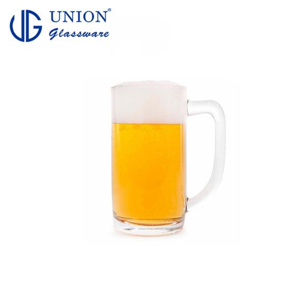 泰國UNION Hercules啤酒杯535ml 玻璃杯 飲料杯 酒杯