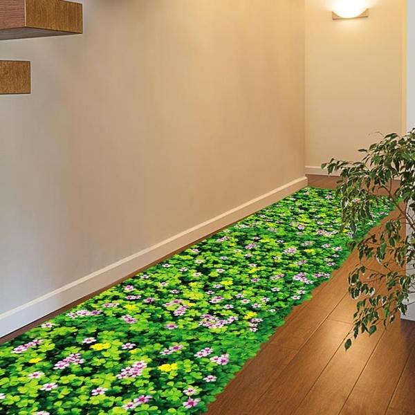 3D立體墻貼紙地板貼布置衛生間浴室裝飾玻璃貼畫地貼防水墻紙自粘