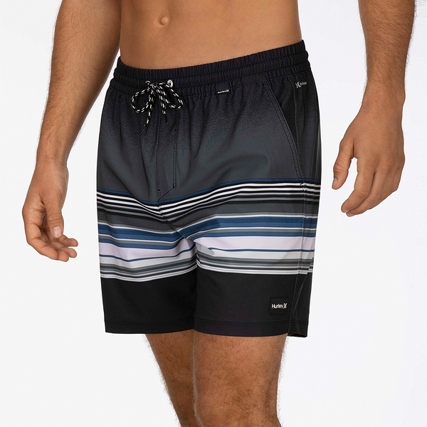 Hurley M PHTM SPECTRUM VOLLEY 17 ANTHRACITE 海灘褲-(男)