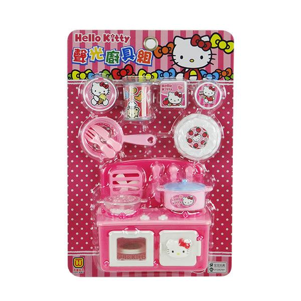 【888便利購】Hello Kitty 廚房聲光廚具組(ST正版授權)(A345)