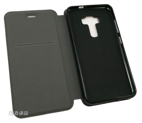 【Dapad】卡夢隱扣皮套 ASUS ZenFone 3 ZE552KL (5.5吋)