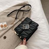 高級感小眾設計網紅小包包女2021新款韓版時尚百搭單肩斜背包