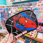 正版 迪士尼 漫威系列 雙面皮革零錢包 鑰匙圈零錢包 收納包 票卡收納包 蜘蛛人款 COCOS WZ075