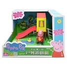幼之圓~粉紅豬 粉紅豬小妹 粉紅豬小妹戶外遊戲組粉紅豬的溜滑梯~好好玩~