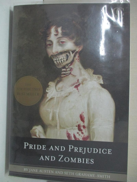 【書寶二手書T1/原文小說_ALX】Pride and Prejudice and Zombies_Austen