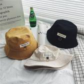 日繫夏季漁夫帽男士時尚百搭個性網紅盆帽情侶遮陽帽   麥吉良品