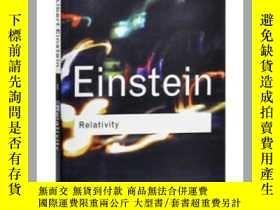 二手書博民逛書店愛因斯坦相對論罕見Relativity 英文原版 Albert