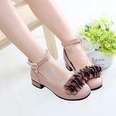 中大童女童鞋子韓版公主鞋女孩小皮鞋