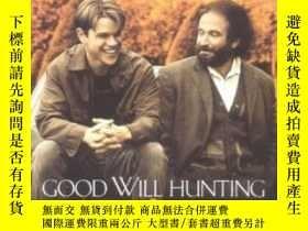 二手書博民逛書店【罕見英文原版】馬特達蒙,本阿弗萊克《心靈捕手》Good Will Hunting :a screenplay