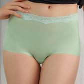 EASY SHOP-俏挺動感 無痕中腰平口褲(薄荷綠)
