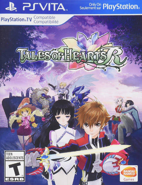 PSV Tales of Hearts R 時空幻境 心靈傳奇 R(美版代購)