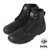 Palladium Pampa Shield 黑色 防水 皮質 軍靴 男女款 NO.B1693【新竹皇家 76844-008】