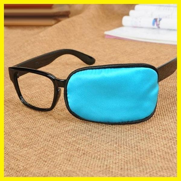 館長推薦眼鏡套獨眼罩弱視矯正斜視兒童單眼罩全遮蓋成人男女護眼罩