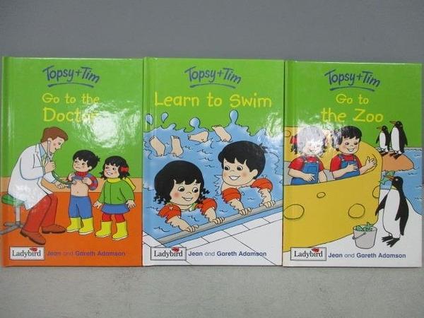 【書寶二手書T2/語言學習_CIA】Topsy+Tim-Learn to Swim_Go to the Zoo等_共3本